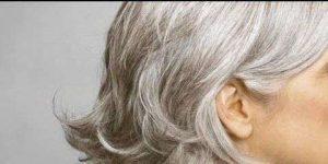 L'apparition des cheveux blancs