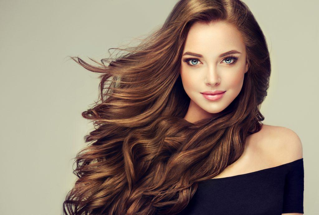 Cheveu d'un femme