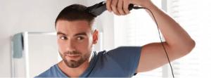 tondeuse après une greffe de cheveux